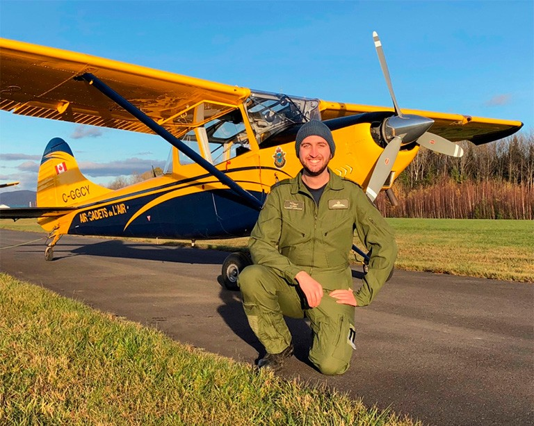 Researcher and commercial pilot applies psychology to flight training practices