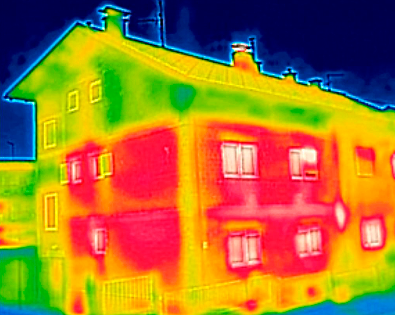 Thermal imaging of housing stock can tell us where energy costs will hurt, Concordia researchers show