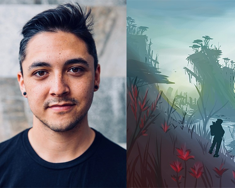 Concordia graduating student's Indigenous video game wins a major prize