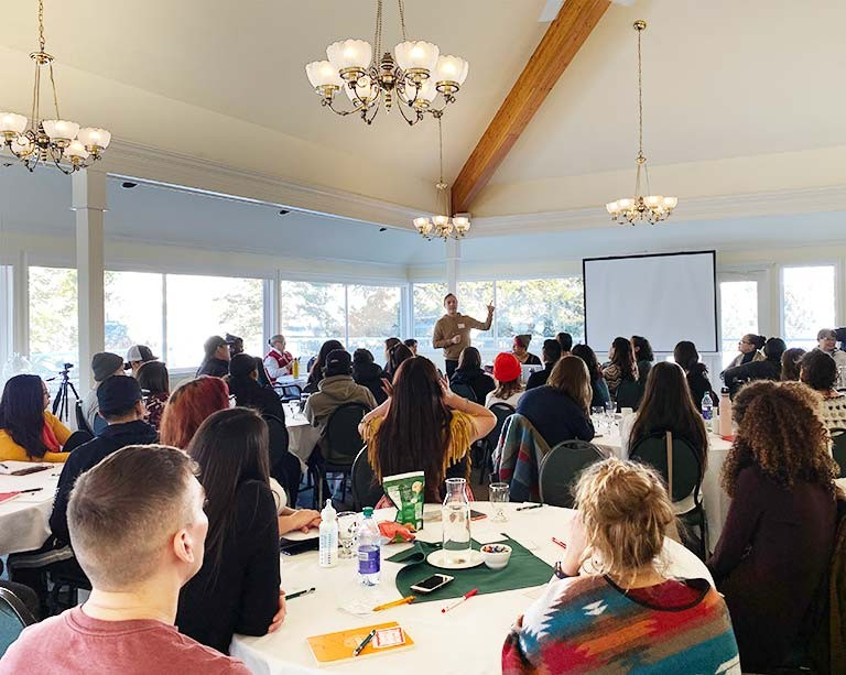 Concordia hosts more than 300 youth for the Canadian Roots Exchange National Gathering