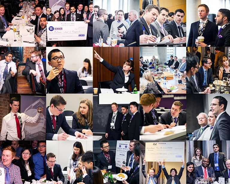9 university teams put their investment strategies to the test at the Van Berkom JMSB Case Competition