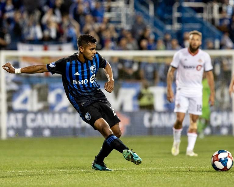 Emerging Montreal Impact star and Concordia engineering undergrad earns his iron ring