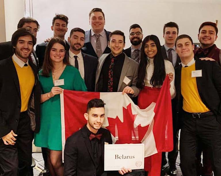 Concordia ranks among the world's top Model United Nations teams