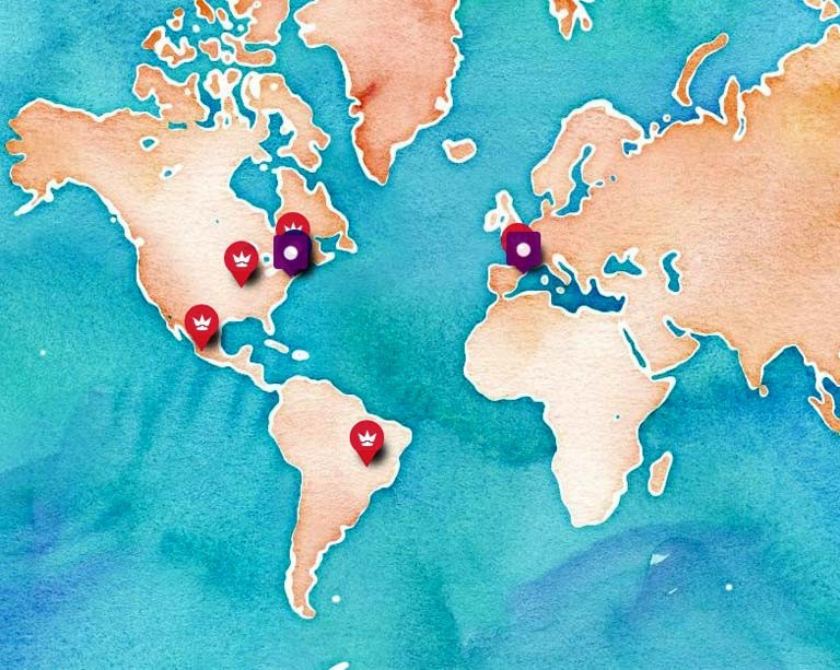 Circus research team creates a global stories map