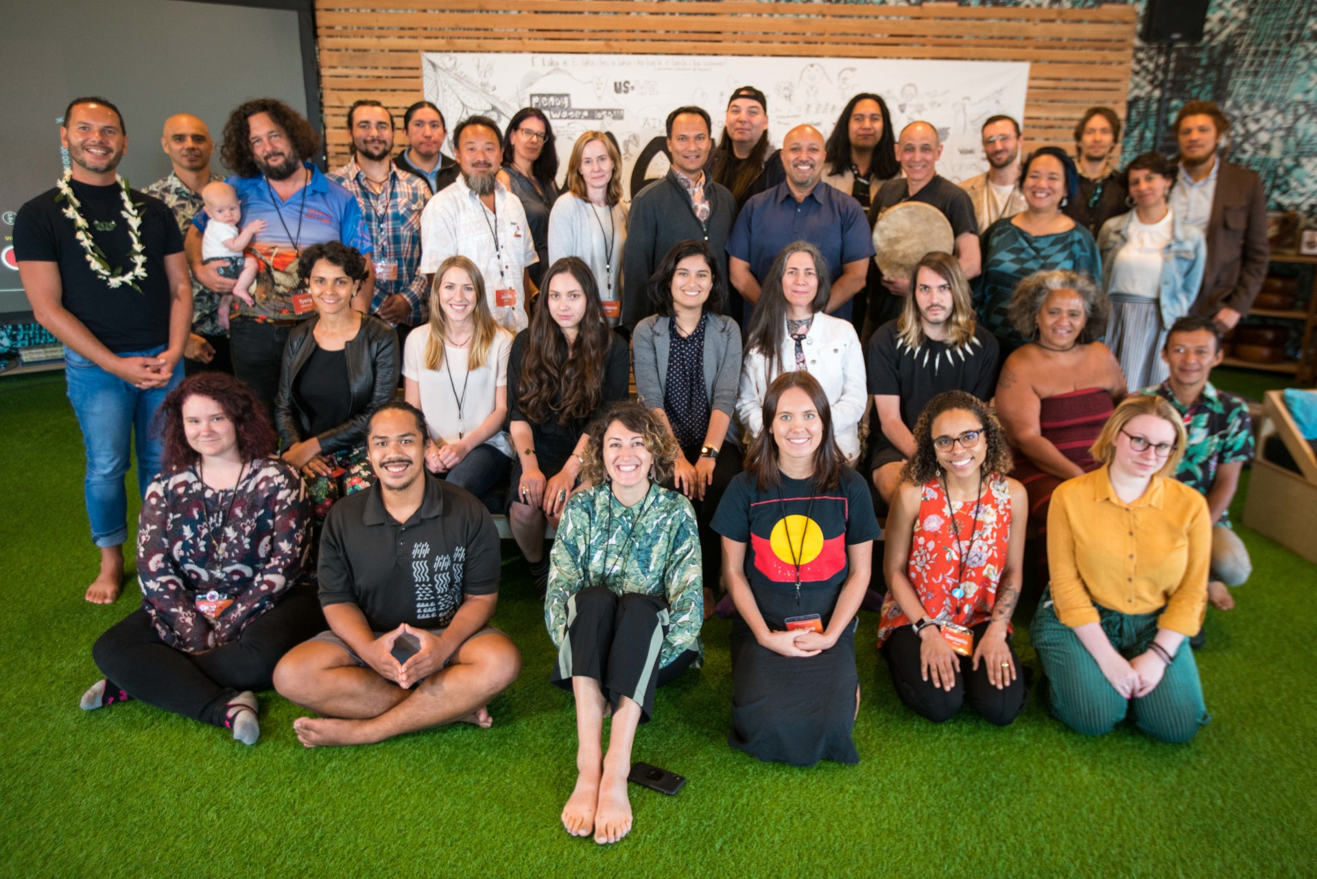 IP AI working group | Photo by ʻĀina Paika, © 2019 Initiative for Indigenous Futures