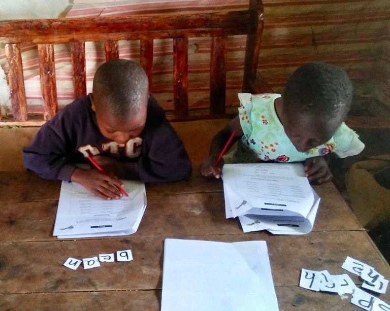 Concordia helps adapt literacy programming to the reality of COVID-19 school closures in Kenya