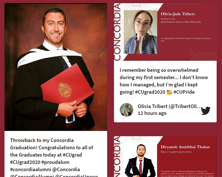 Concordia celebrates the fall 2020 graduating class