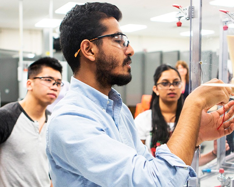 Concordia prepares students for careers in a fast-changing aerospace industry