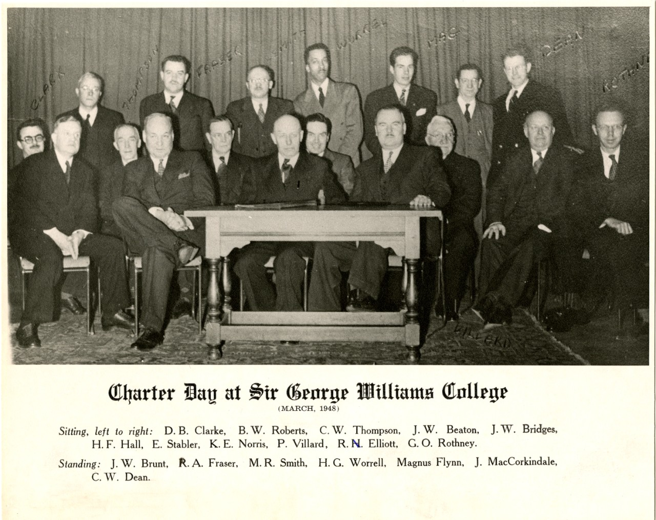 Charter Day at SGW