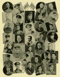 Roll of Honour, 1914-1918